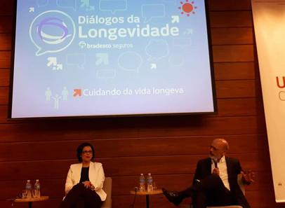 Diálogos da Longevidade com Andrea Prates e Alexandre kalache. Bradesco Seguros - UNIBES