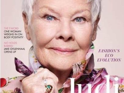 Aos 85 anos, Judi Dench é a mulher mais velha a ser capa da 'Vogue' britânica