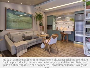 Casa da Longevidade: espaço planejado para mais velhos morar.