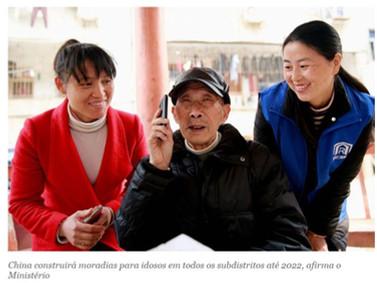 China construirá moradias para idosos em todos os subdistritos até 2022.