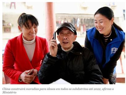 China construirá moradias para idosos em todos os subdistritos até 2022