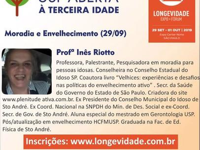 Expo Longevidade - 2019- USP- Moradia e Envelhecimento