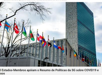 """ONU - """"Declaración de apoyo al Resumen de políticas del Secretario General de la ONU sobre el impact"""