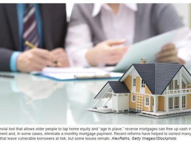 EUA - Reverse Mortgages -Hipoteca reversa
