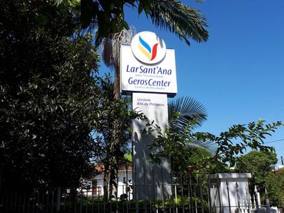 O Lar Sant'Ana é um residencial para a terceira idade que atende idosos independentes e semidependen