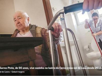 Porto - Portugal - quer saber quantos idosos vivem sozinhos e em situação de risco.