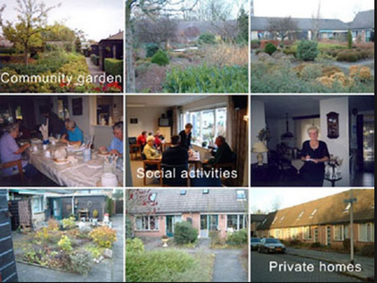 Aquário é uma comunidade social com 55 pessoas idosas,Eindhoven,município neerlandês .