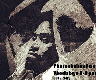 Pharaohsus, radio oportunities, DJ, radio show host