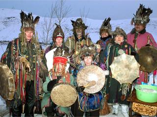 Tuva och södra sibiriens shamaner (Svenska)