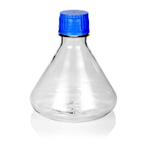 3000mL 震盪培養瓶 (錐形/平底)
