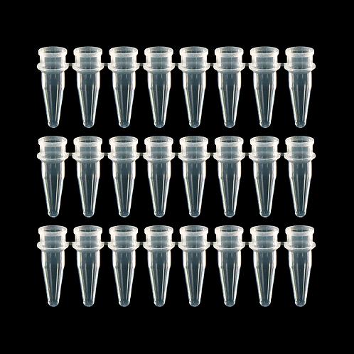 0.2 mL 平頭排蓋八連排 PCR 微量管