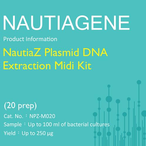NautiaZ Plasmid DNA Extraction Midi Kit 操作手冊