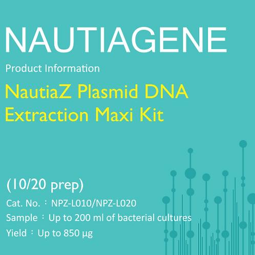 NautiaZ Plasmid DNA Extraction Maxi Kit 操作手冊