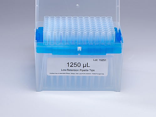 1250 μL (低殘留/盒裝)