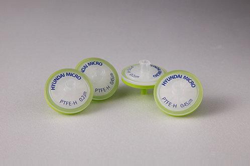 PTFE-H (親水性) 針筒過濾器