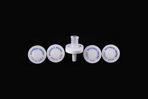 PTFE-D (疏水性) 針筒過濾器