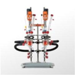 雙槽實驗室玻璃反應設備