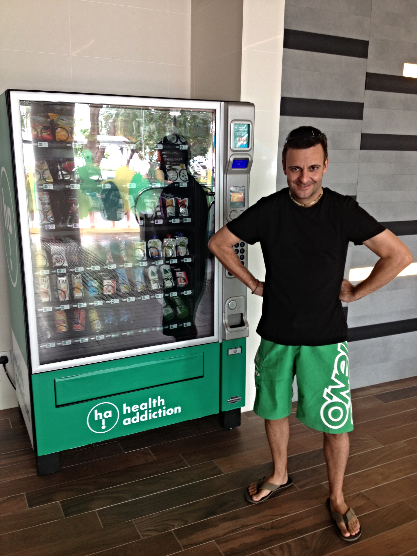 Health Addiction Vending Machine