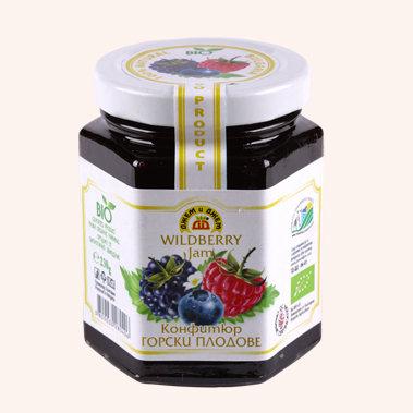 Organic Wildberry Jam