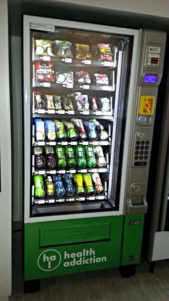 Health Addiciton Vending Machine