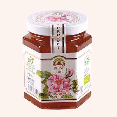 Organic Rose Petal Jam