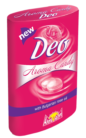 Rose oil Candy with Sugar (12pcs/box)