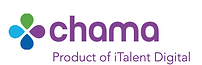 Logo of Chama, the intelligent change management SaaS software, product of iTalent Digital