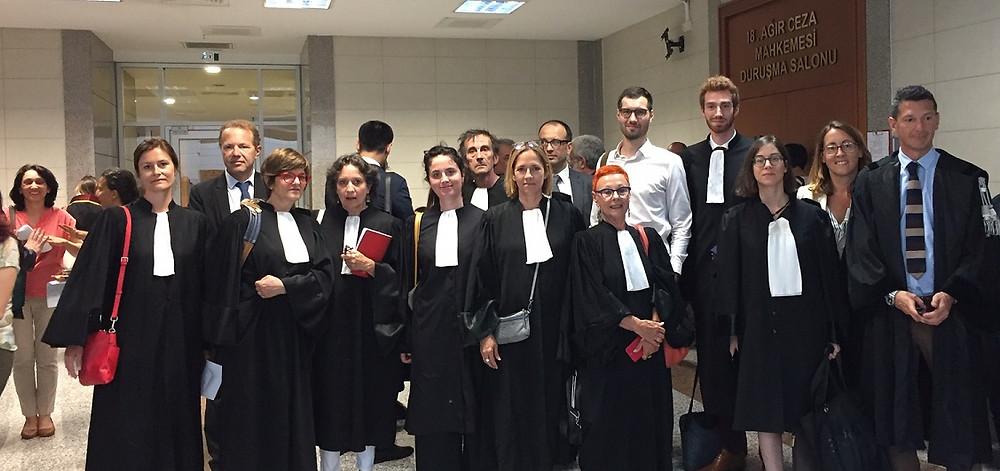 soutien des avocats européens aux avocats turcs Nathalie JAY saint pierre la réunion