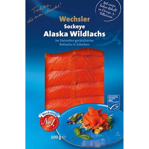 Sockeye Alsaka Wildlachs geräuchert