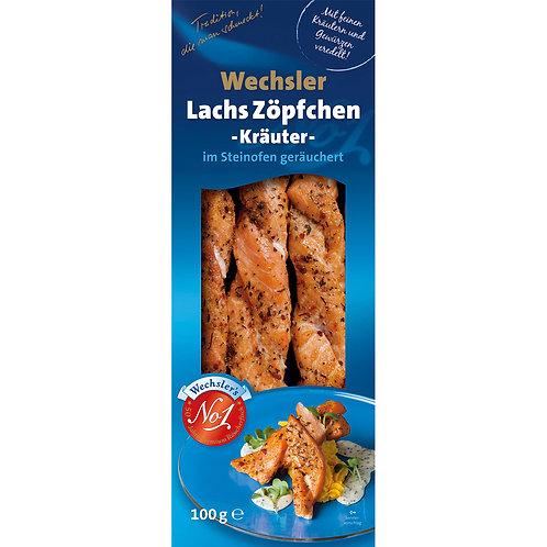 Lachs Zöpfchen Kräuter