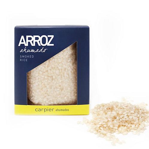 Reis geräuchert