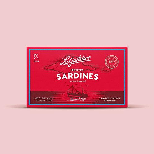 Baby Sardinen mit Olivenöl 16/20