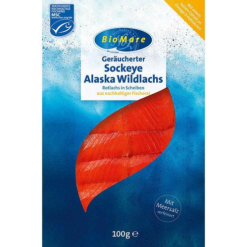 Bio Sockeye Alaska Wildlachs