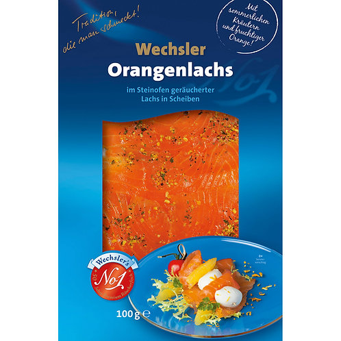 Orangenlachs