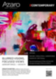 Azaro Art Spaces - Poster Blurred Vision