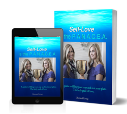 Self-Love is the PANACEA eBook 3d cover.