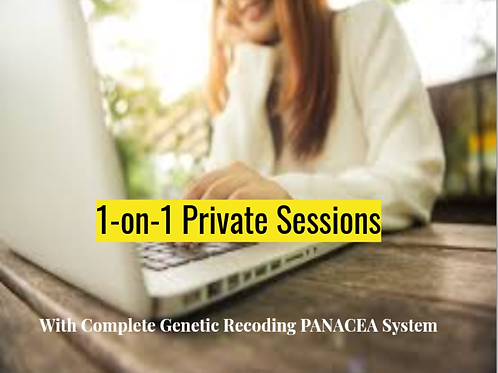 7-Step PANACEA with 1-on-1 sessions for PARTICIPANTS