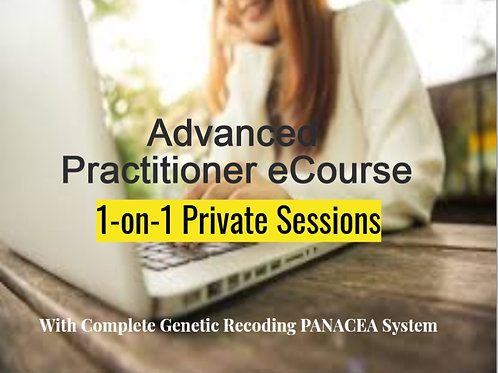 7-Step PANACEA with 1-on-1 sessions for PRACTITIONER