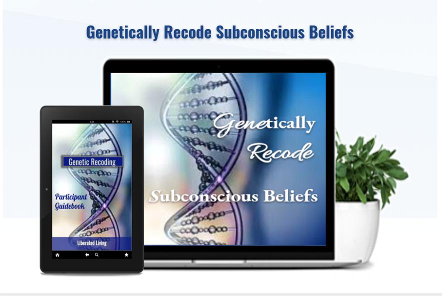 Recode Subconscious Beliefs eCourse