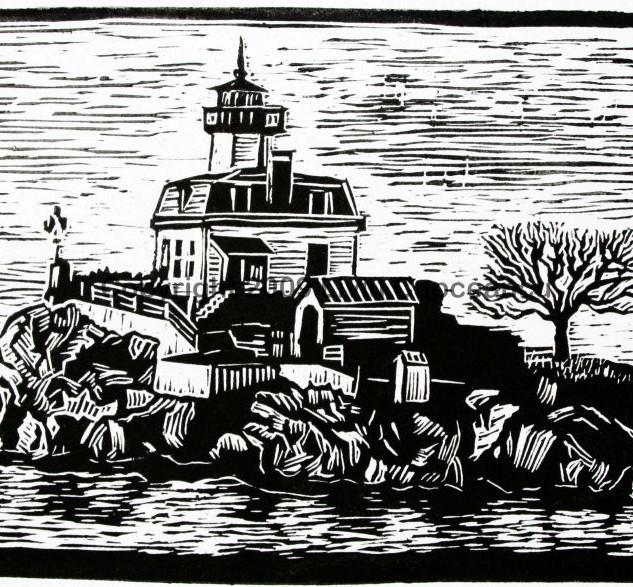 Pomham Rocks Lighthouse RI