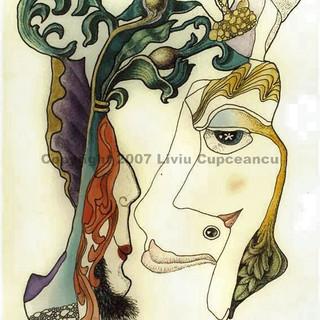 Woman & Dove