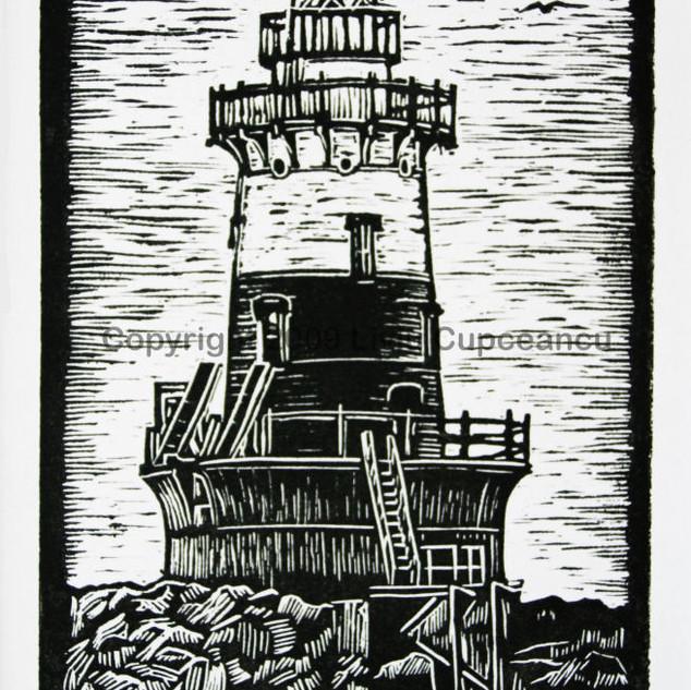 Greens Ledge Lighthouse CT