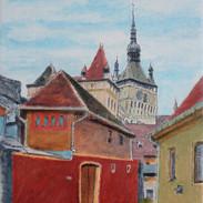 Sighisoara Red Wall
