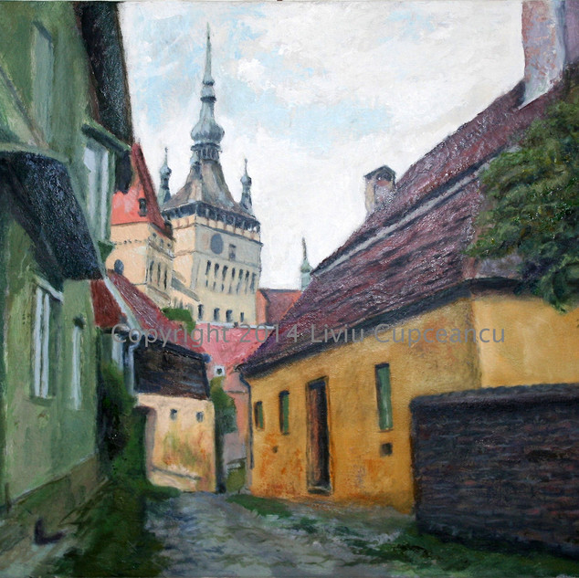 Sighisoara Street