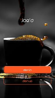 joes coffee #UI_Design 01_Welcome.png