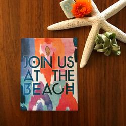 Beach Bohemian Save the Date
