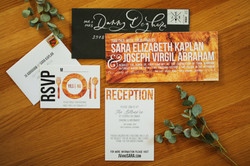 Wood Invitation Suite