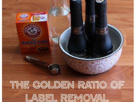 The Golden Ratio of Label Removal