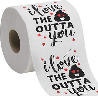 Valentine's Day Funny Toilet Paper