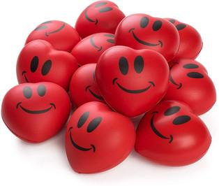 Stress-reliever Heart-shaped little balls